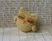 Yellow Owlet Keychain