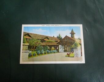 Eseeola Lodge, Linville, NC - Vintage North Carolina Postcard