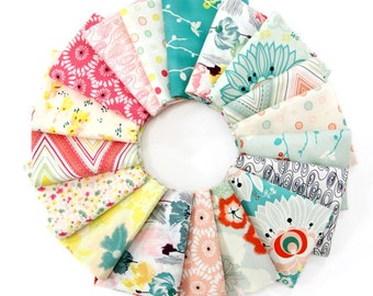 Half Yard Bundle - RAPTURE by Pat Bravo - Art Gallery Fabrics  - 20 pieces