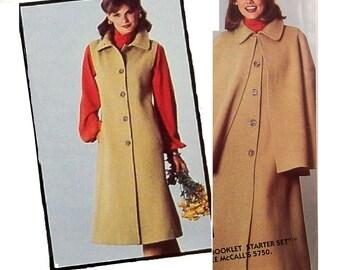 Vintage Sherlock Holmes Cape Coat Pattern Uncut McCalls 5753 Bust 31 - 34