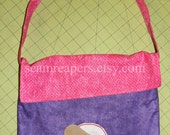 Doc McStuffins inspired halloween, tote, book bag
