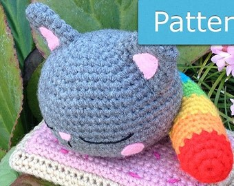 Nyan Cat Scarf Crochet Pattern Free : Popular items for nyan cat on Etsy