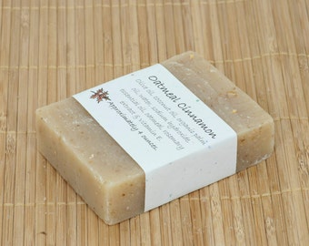 Oatmeal Cinnamon Essential Oil Soap, 4 Ounces