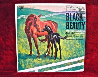 BLACK BEAUTY and other Great Stories - 1960  Vintage Vinyl Record Album