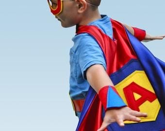 Kids Superhero Cape Set