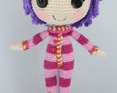 PATTERN: Pillow Crochet Amigurumi Doll