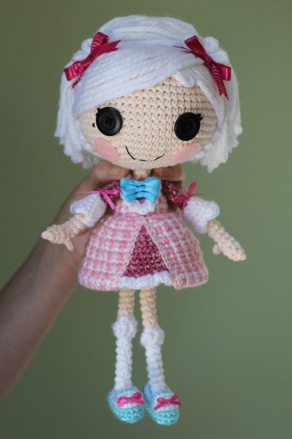 Presepe Amigurumi Etsy : CUSTOM DOLL: Lalaloopsy Amigurumi Doll