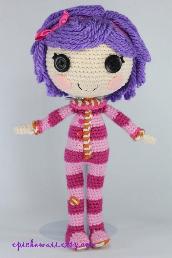 Pattern Pillow Crochet Amigurumi Doll By Epickawaii On Etsy