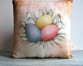 Easter Egg Decor Pillow
