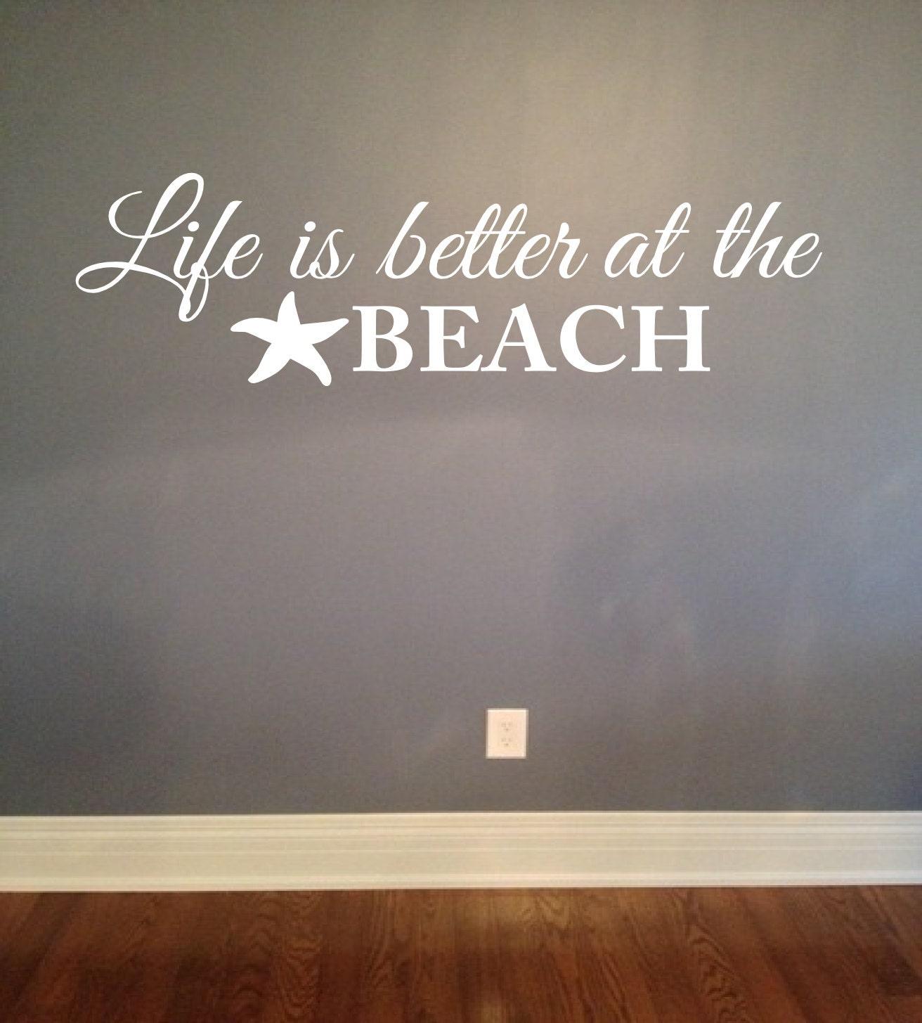 Chandeliers pendant lights for Beach wall mural sticker