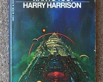 Stainless Steel Rat Wants You ! - Vintage Sci-Fi Novel by Harry Harrison - 1979 Bantam Edition Paperback