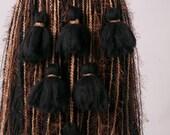 Black, Brown Tan earth tone Tribal Belly dance Belt