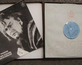 Vintage 3 Vinyl LP Boxed Set Wagner The Flying Dutchman Otto Klemperer Angel Stereo SCL-3730