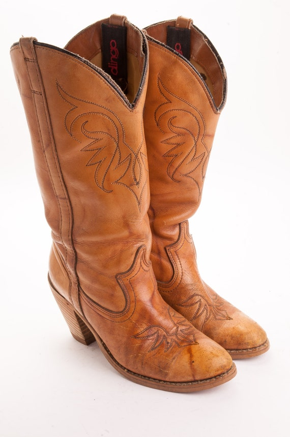 high heeled womens cowboy boot by dingo s by