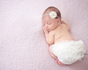 Gorgeous Vintage  Pink or Cream 'Ella Mae' Baby Girl Childs Headband