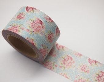 Washi Tape - vintage rose (30mm X 10M)