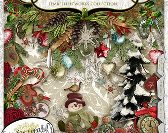 Christmas Creatif by Papier Creatif - Vintage Christmas Kit