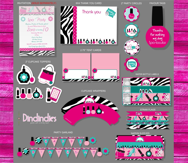 Zebra Party Invitations was nice invitations design