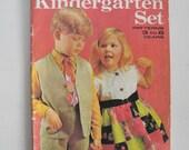 Enid Gilchrist Kindergarten Set Pattern Magazine 1960's vintage