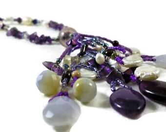 Iris Queen Necklace