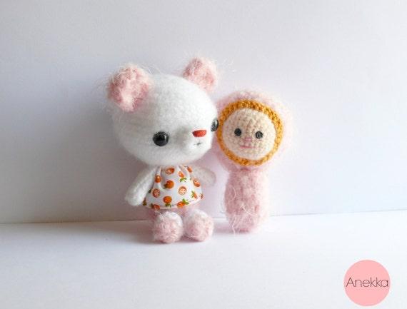 Teddy bear amigurumi Plush bear amigurumi crochet by ...