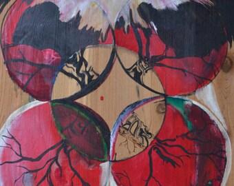 "print of ""Life Web"" painting"