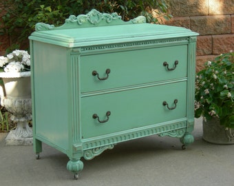 PAINTED DRESSER - Order Your Own Antique Dresser - We Restore And Refinish For You