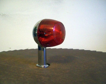 Vintage 1967 motorcycle tail light directional light Imasen 24233 red lens perfect chrome