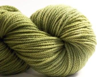 Kettle Dyed Aran weight British BFL, 180 yds, 100g
