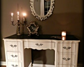 Shabby Glam Desk / Vanity  (SOLD)