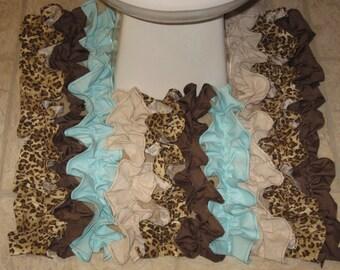 Leopard Print Bathroom Rugs Roselawnlutheran - Patterned bathroom rugs for bathroom decorating ideas