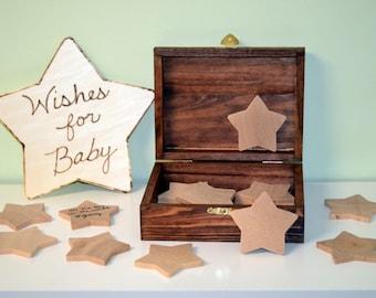 Wishing Stars Baby Shower Keepsake, Baby Shower Guest Book