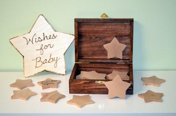 wishing stars baby shower keepsake baby shower guest book