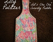 """Lilly Pulitzer """"Let's Cha Cha"""" Paddle"""