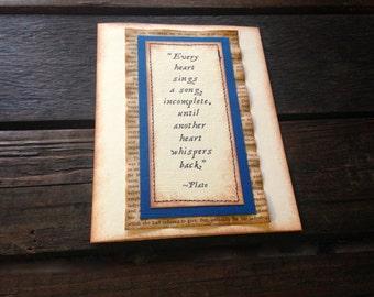 Wedding Invitations, Vintage Wedding Invitation, Book Page, Navy Blue, Romeo and Juliet, Pride and Prejudice, 1 Corinthians 13, Antique