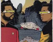Vintage Comic Book Star Trek The Next Generation Number 64 October 1994 DC Comics - DC Comic Book, USS Enterprise, Captain Picard, Data