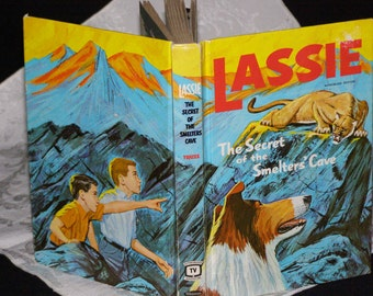 Lassie The Secret of the Smelter's Cave (Hardcover) by Steve Frazee (Author) Sparky Moore Al Anderson Illustrators