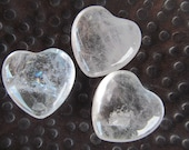 Clear Quartz Heart #H30