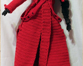 Vash the Stampede crochet doll from Trigun