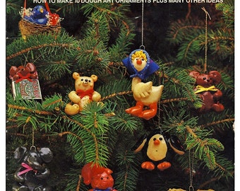 Dough It For Christmas Ornament Pattern Book HOTP-4