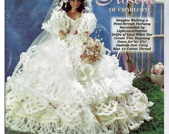 Ladies of Fashion Rosette of Charlotte  Crochet Pattern  The Needlecraft Shop 982513
