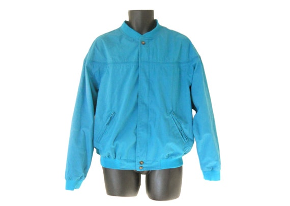 Light Blue Windbreaker Jacket - JacketIn