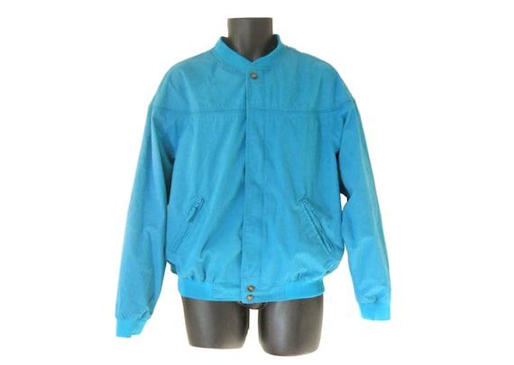 Light Blue Windbreaker Jacket BZmQEd
