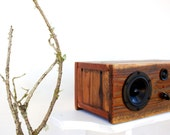 SALE! Wireless Bluetooth Reclaimed Wood Speakers || Handmade from Salvaged Redwood || Weston Speaker | Ralph's Redwood || FREE SHIPPING