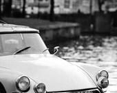 Citroen DS 19 Pallas.  Amsterdam. Classic car. Citroen
