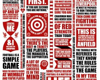 A4 LFC 'Shanklyisms' digital print