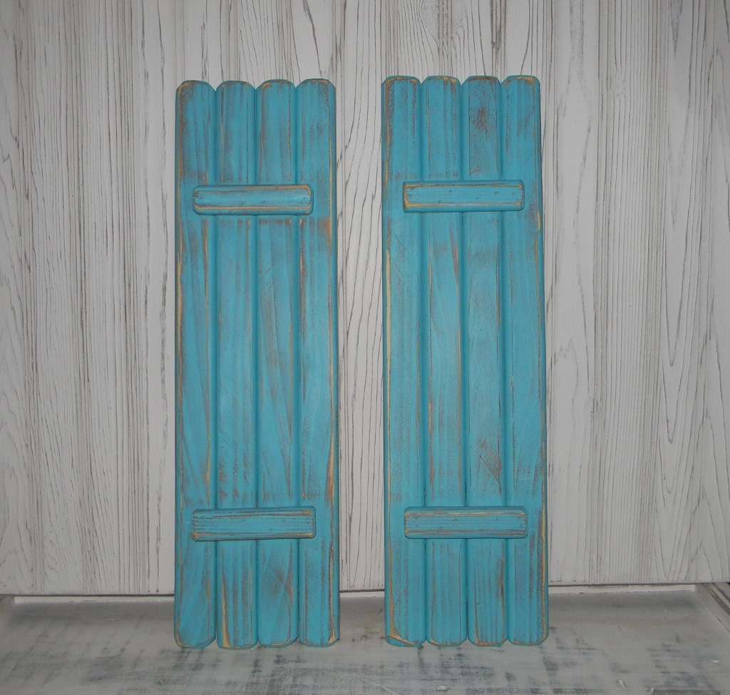 Wooden Shutters Interior Shabby Rustic Shutters Coastal Beach