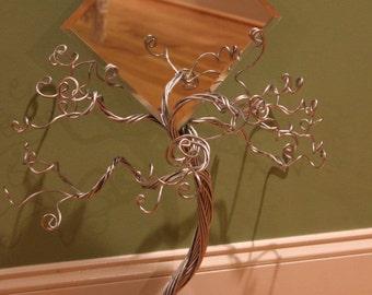 Mirror Jewelry Tree Organizer Display Ring Stand-Ready to Ship-MEDIUM SIZE