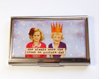 Business Card Case, Card case, business card holder, Case, Funny Card Case, Humor (2961)