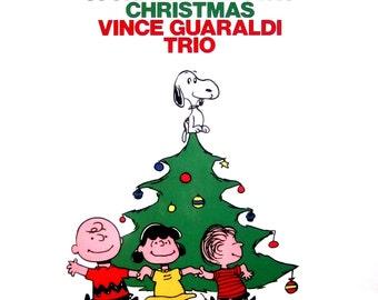 A CHARLIE BROWN CHRISTMAS Vince Guaraldi Trio Classic Factory Sealed Christmas Holiday Jazz Vinyl Lp Record Album Xmas X-Mas Guraldi